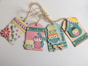 Owl Tags